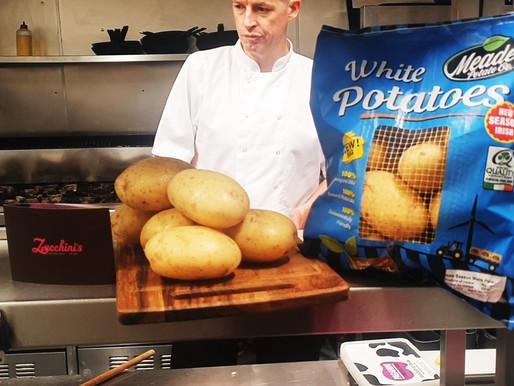 Zucchini's Restaurant shows us the secret to their delicious Fondant Potatoes