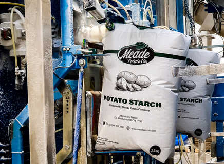 Our starch is the only food grade starch