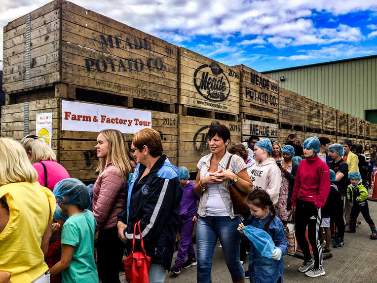 The Fmily Fun Day 2017 tours were popula