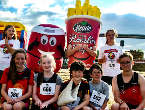 Juvenile runners in the Meade Potato Day