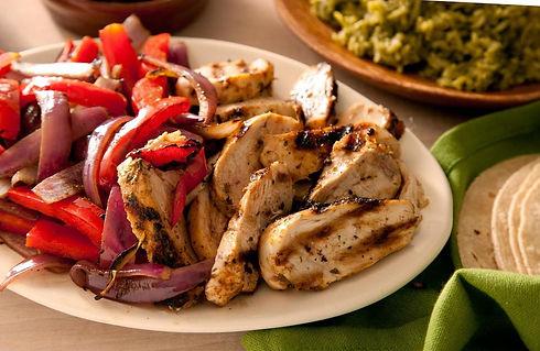 Chicken, Pepper and Onion Fajitas.JPG