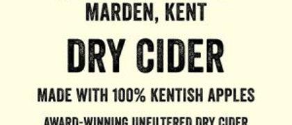 Turners Dry Cider  BIB 20 litre  6.5%