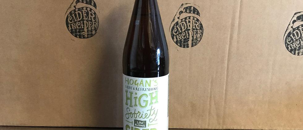 Hogan's High Sobriety Cider 1% 500ml x 12