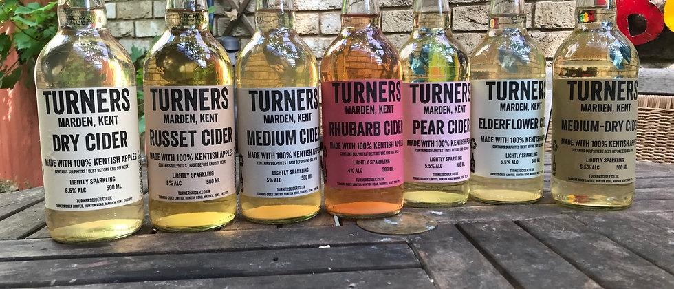 Turner's Mixed Box  12 x 500ml