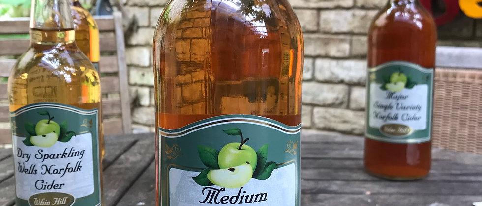 Whin Hill Medium Sparkling Cider 750ml  6.8