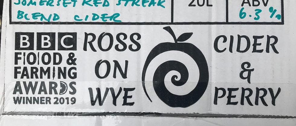 Ross on Wye Redstreak  Blend 6.3 %  20L
