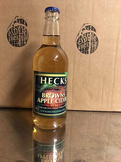 Heck's  - Browns Apple Cider 6.5%