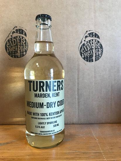 Turner's Medium Dry Cider 6.5%   500ml