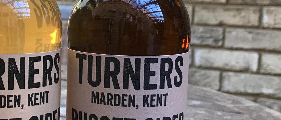 Turner's `Russet' Cider x 12   8%  (still cider)