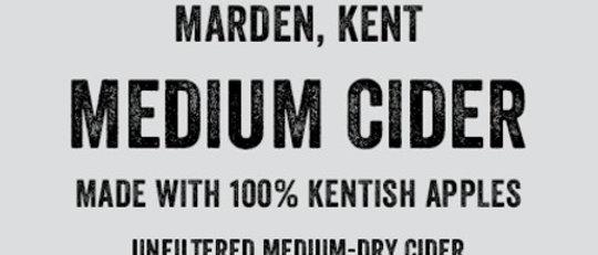 Turners Medium  Cider  BIB 20 litre  5%
