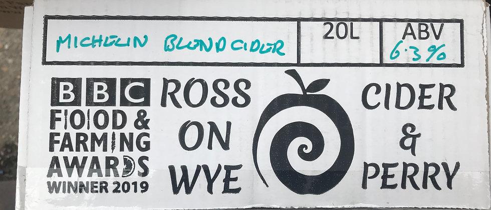 Ross on Wye  Michelin Blend 6.3 %  20L