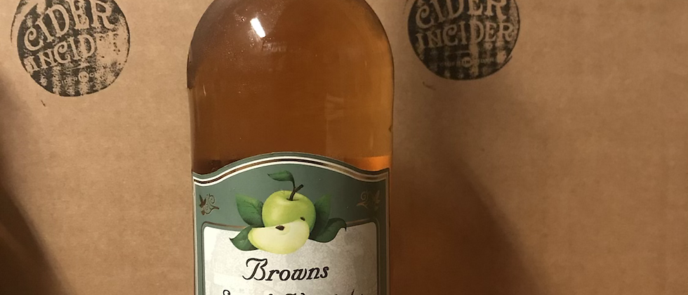 Whin Hill Browns S.V cider 5.4% -  750ml x 12