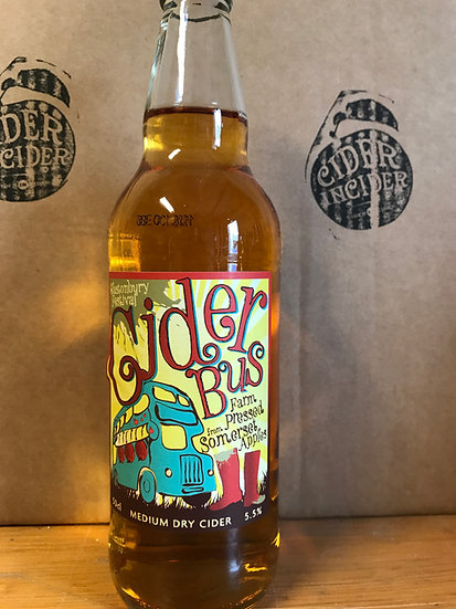 Burrow Hill Cider Bus (Glastonbury Festival Cider) x 12
