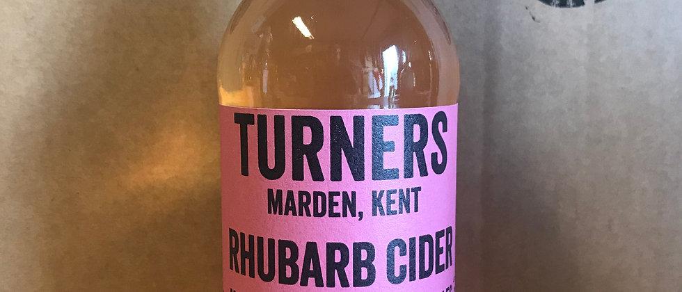 Turner's Rhubarb cider 4 %   12x500ml