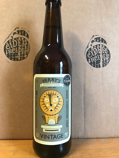 Perry's Vintage cider 6.7 % 500ml x 12