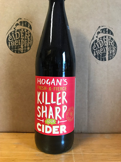 Hogan's Killer Sharp Cider - 5.8%  - 500ml
