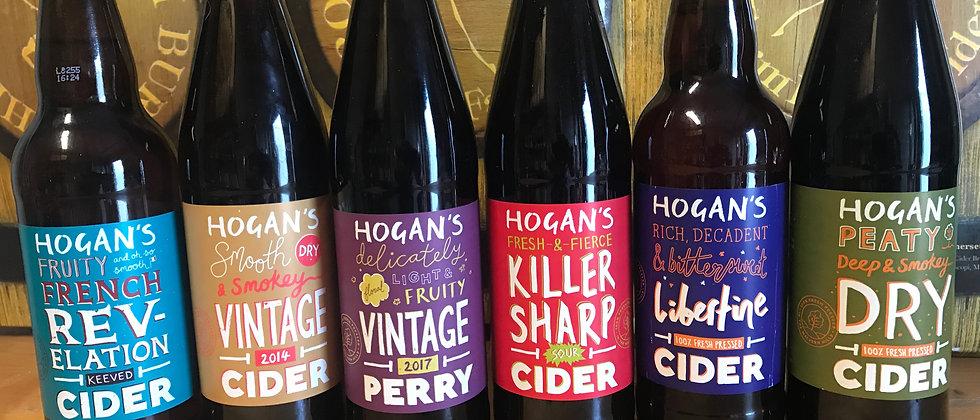 Hogan's mixed box- 500ml x 12 cider/Perry
