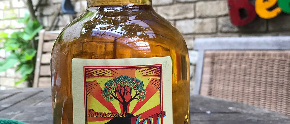 Burrow Hill  Medium Cider 1 litre flagon  6%