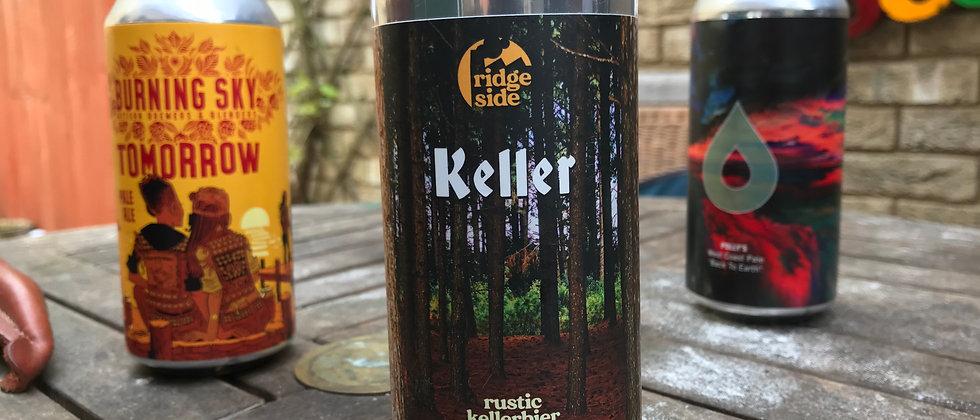 Ridgeside Keller - Rustic Keller Beer (lager) 5.1%