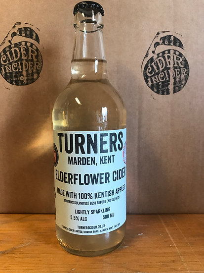 Turner's Elderflower 5.5 %   12 x 500ml