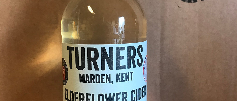 Turner's Elderflower  500ml   5.5 %