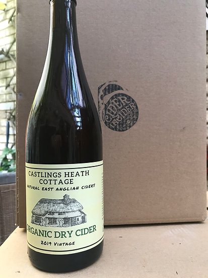 Castling Heath Cottage Organic Cider 7.5%