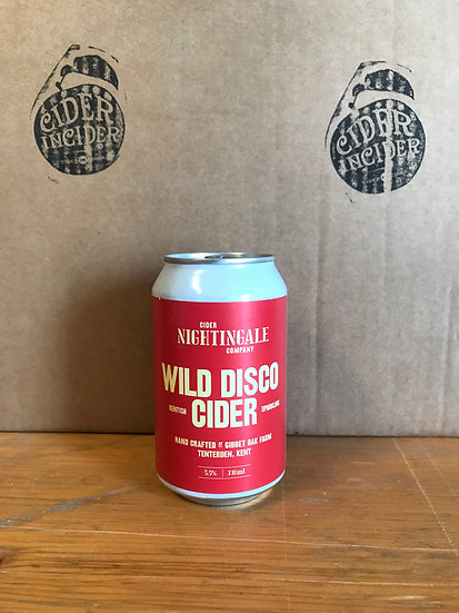 Nightingale's Wild Disco Cider 5.5% 330ml x 12