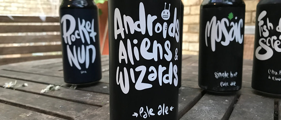 3 Blind Mice - Androids, Aliens and Wizards 3.8%