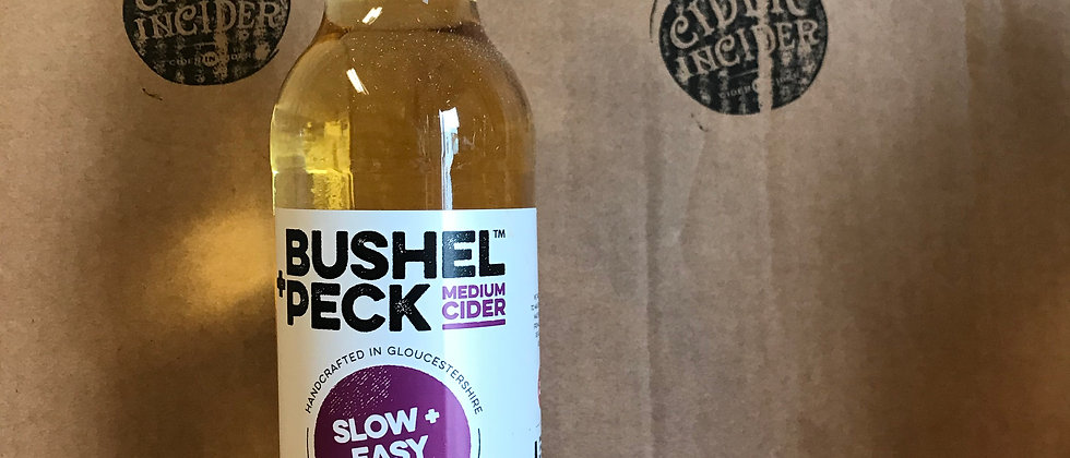 Bushel + Peck  Slow and Easy   6 %  12 x 500ml