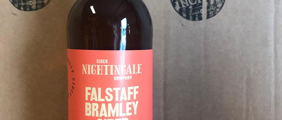 Nightingale's Falstaff Bramley Cider 6.2 % - 500ml x 12