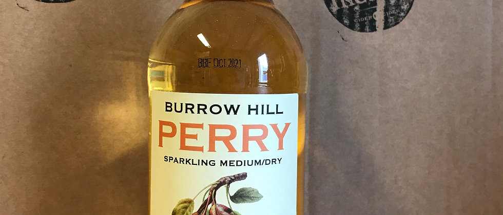 Burrow Hill Perry  -  500ml bottle 6.3%