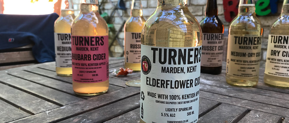 Turner's Elderflower  500ml   5.5 %
