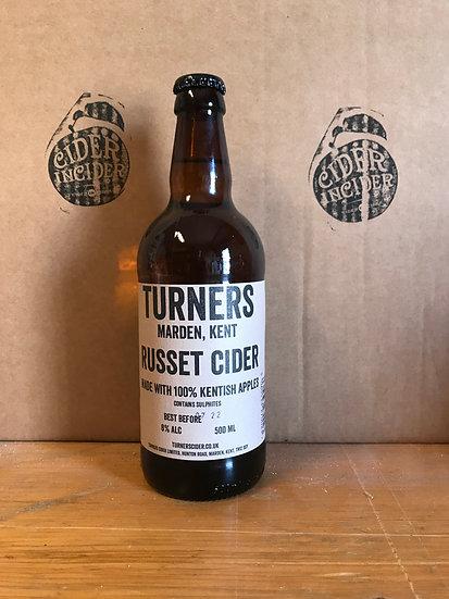 Turner's `Russet' Cider x 12   8%