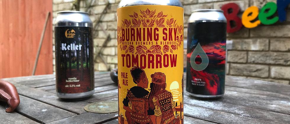 Burning Sky Tomorrow  5%