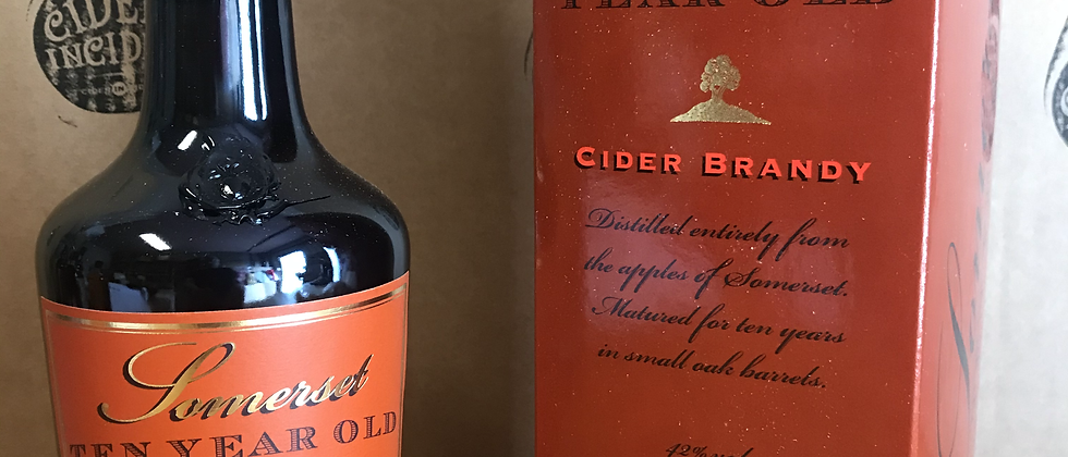 Somerset 10 Year Old Cider Brandy 42% -70cl