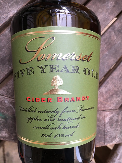 Somerset 5 Year Old Cider Brandy 70cl 42%