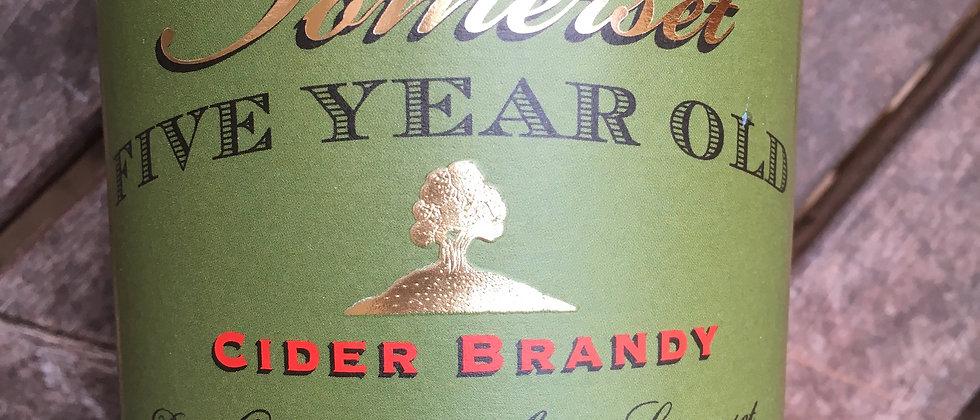 Somerset 5 Year Old Cider Brandy 70cl 42%