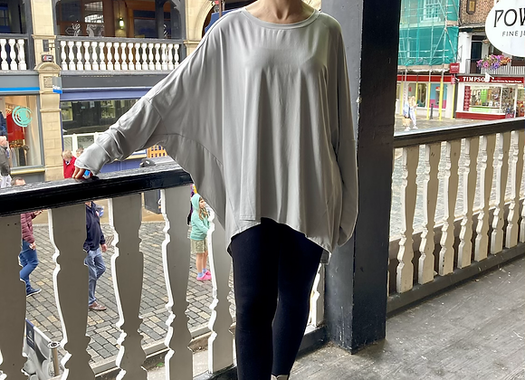 Grey Jersey Top BL86