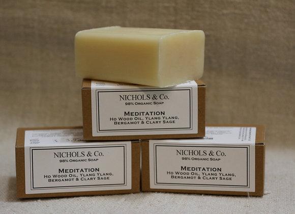 100g Soap. Meditation