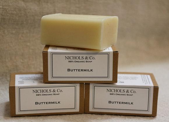 100g Soap. Buttermilk