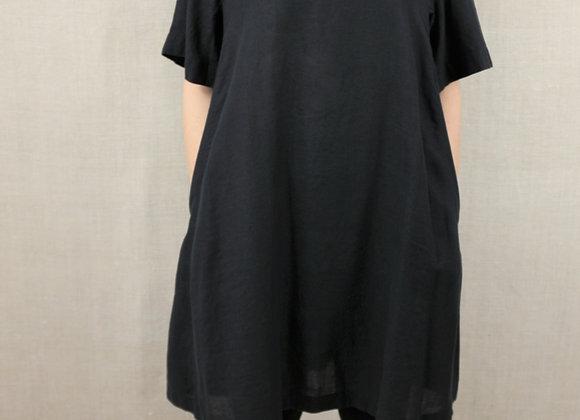 nu linen shirt dress