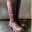 Thumbnail: Lofina Melanzana Tall Zip Up Boot 1042
