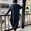Thumbnail: Long Black Jersey Jacket BL133