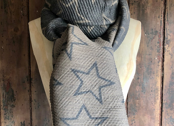 Super Soft Pleated Scarf