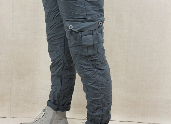 Crinkle cargo trousers BL4