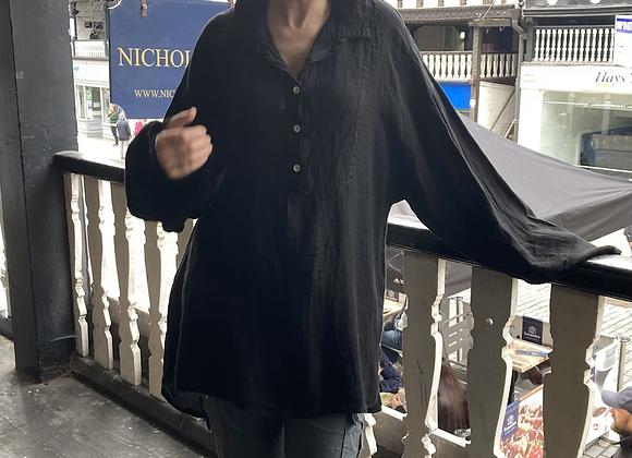 Linen Shirt Dress BL58