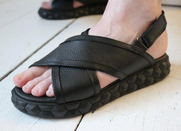 Humility Leather Sandal