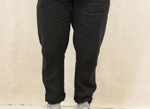 Linen trousers BL12blk