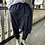Thumbnail: Navy Drop Crotch Trousers BL80
