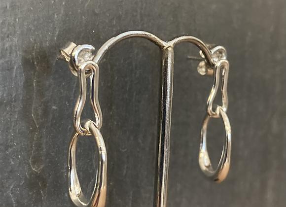 Sterling Silver  Earring E5973